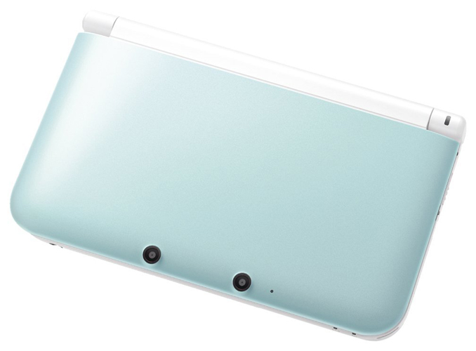 Nintendo 3DS XL System Mint Green & White