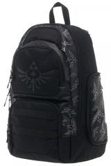 Legend of Zelda Laptop Backpack with Triforce Logo