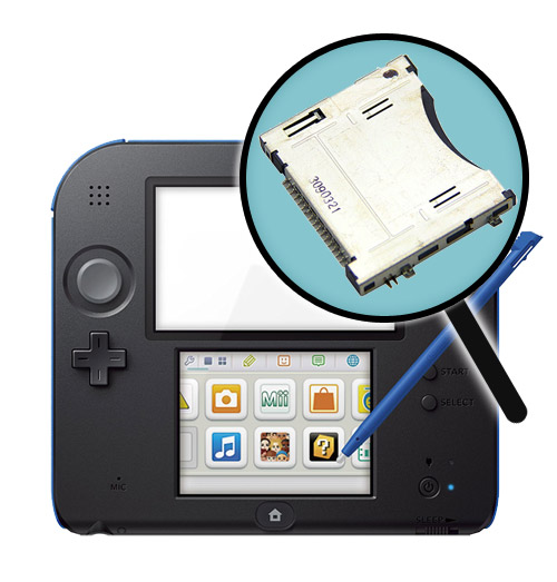 Nintendo 2DS Repairs: Cartridge Slot Replacement Service