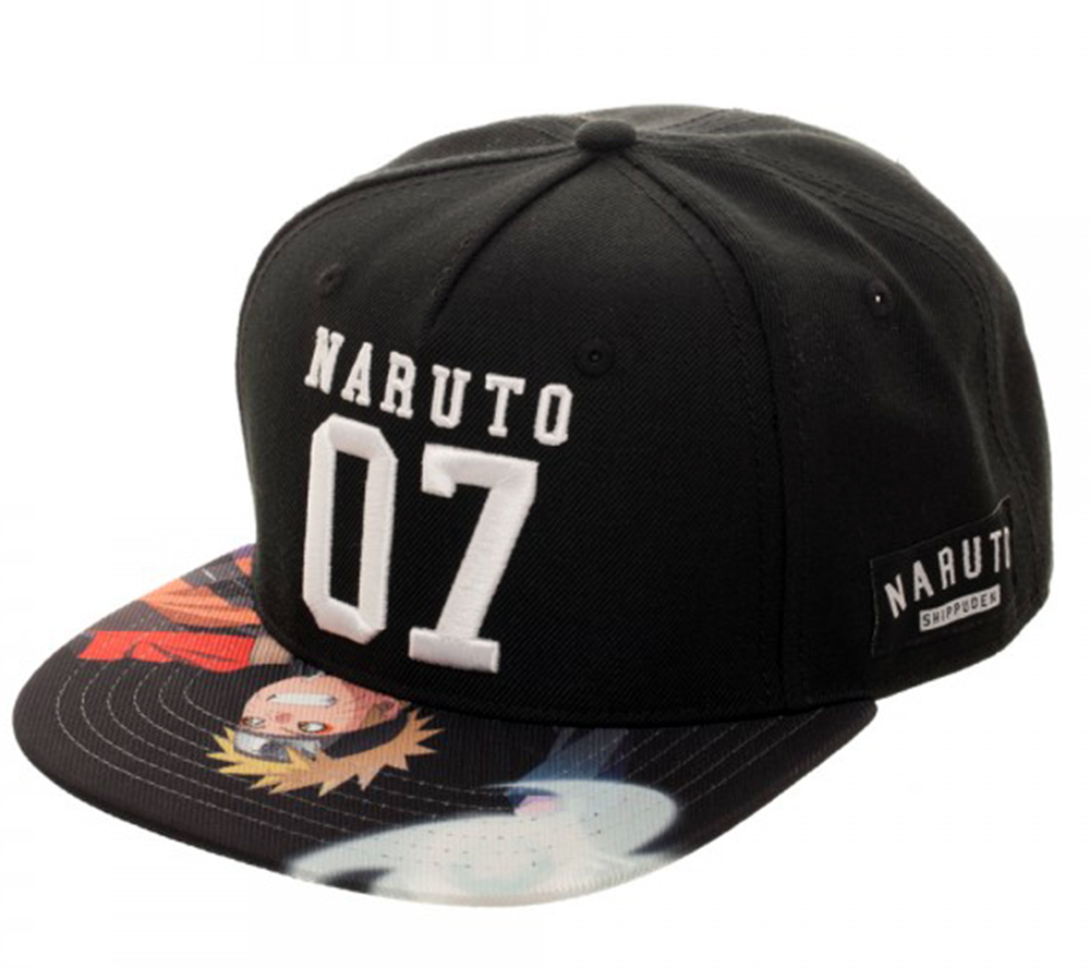 Naruto Shippuden Sublimated Bill Snapback