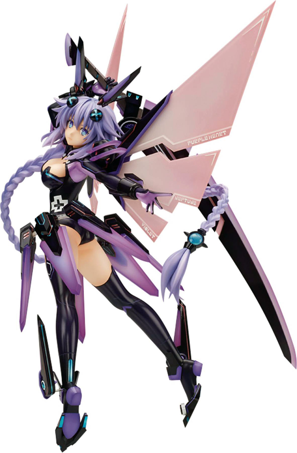 Hyperdimension Neptunia Purple Heart 1/7 Scale PVC Figure