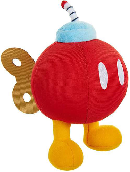 World of Nintendo Red Bob-Omb 6 Inch Plush