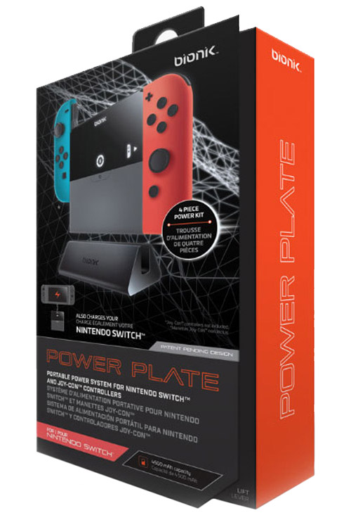 Nintendo Switch Power Plate Portable Power System by Bionik
