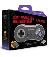 SNES Classic Scout 2.4 GHz Premium Wireless Controller for SNES Classic Edition