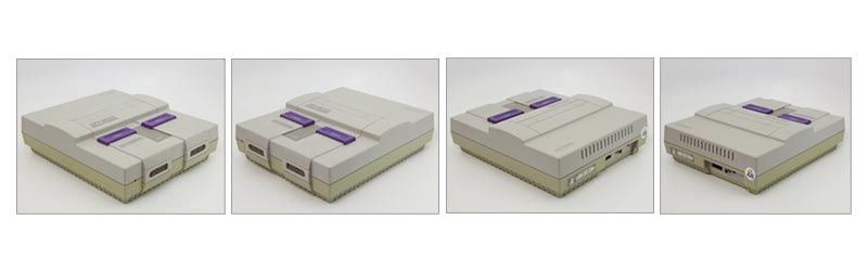 Super Nintendo Grade B Refurbished System Model 1 angle shots