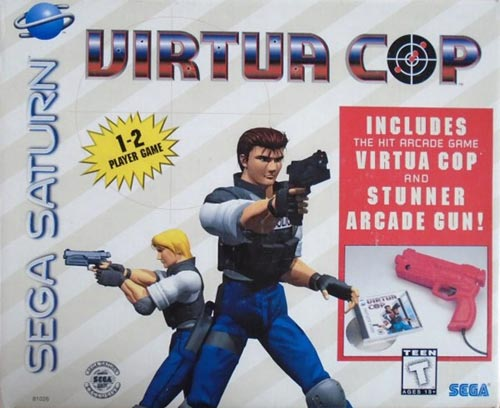 Virtua Cop With Stunner Gun