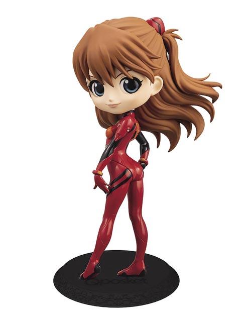 Neon Genesis Evangelion: Asuka Langley Shikinami Q-Posket Figure