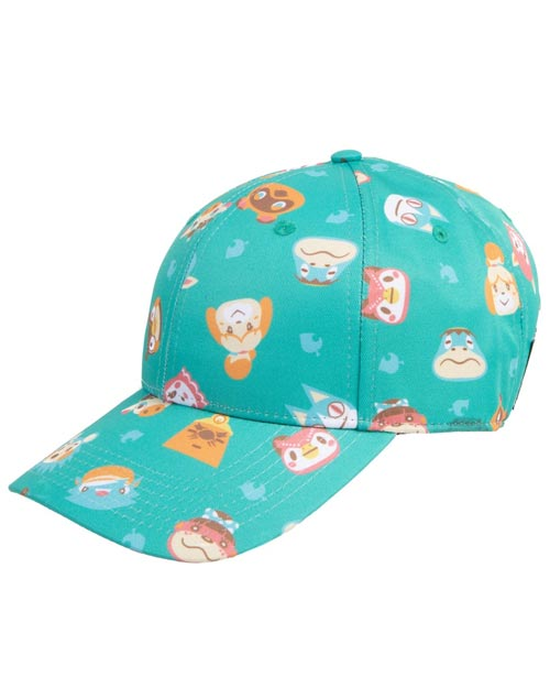 Animal Crossing Friendly Faces All Over Print Hat