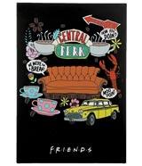 Friends Central Perk Sticky Notebook