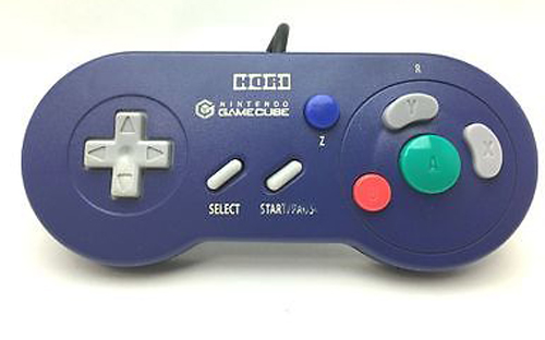 GameCube Digital Controller (Indigo) by Hori