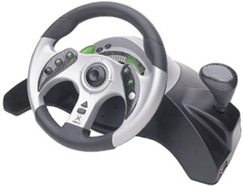 Xbox Licensed Wheel By MadCatz