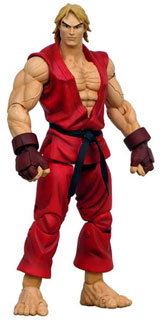 Street Fighter 15th Anniversary Series 2 Ken Action Figure
