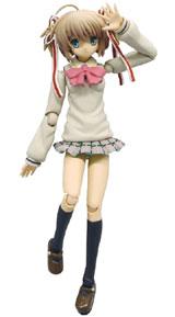 Little Busters! Komari Kamikita Mobip PVC Figure