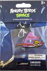 Angry Birds Space Purple Lazer Bird Lanyard