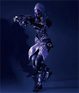 Mass Effect 3 Play Arts Kai Series Two: Tali'zora vas Normandy Action Figure