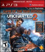 Uncharted 2: Among Thieves Game of the Year (Disc Only)