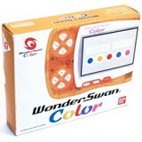 Bandai WonderSwan Color System Crystal Orange