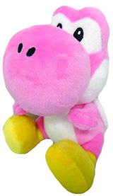 Super Mario Bros Pink Yoshi 6 Inch Plush
