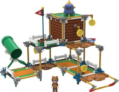 K'Nex Super Mario 3D Prongo Building Set