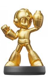 amiibo Gold Mega Man Mega Man Legacy Collection