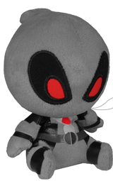 Marvel Deadpool 4.5 Inch Plush Gray