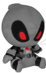 Marvel Deadpool 4.5 Inch Plush Gray