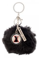 Marvel Black Widow Furry Pom Pom Handbag Charm