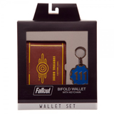 Fallout 111 Wallet and Keychain Gift Set