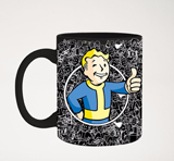 Fallout Vault Boy Thumbs Up Foil 20oz Mug