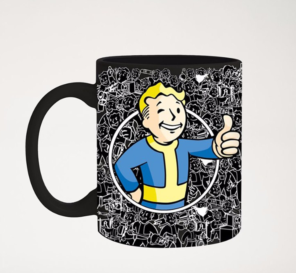 Fallout Vault Boy Thumbs Up Foil 20oz Mug