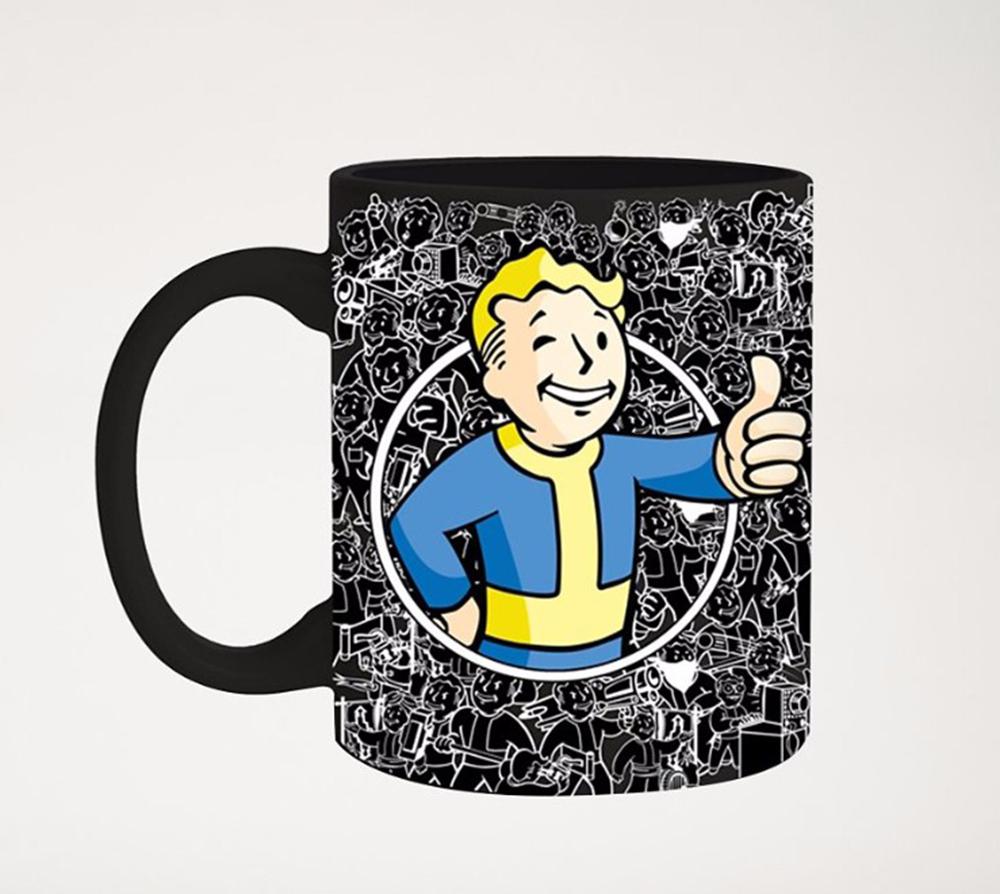 Fallout Vault Boy Foil 20oz Mug