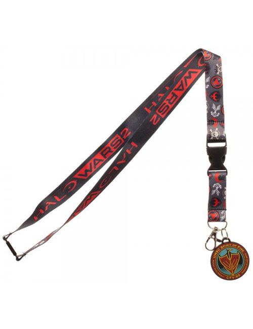Halo Wars 2 Icon Lanyard With Charm