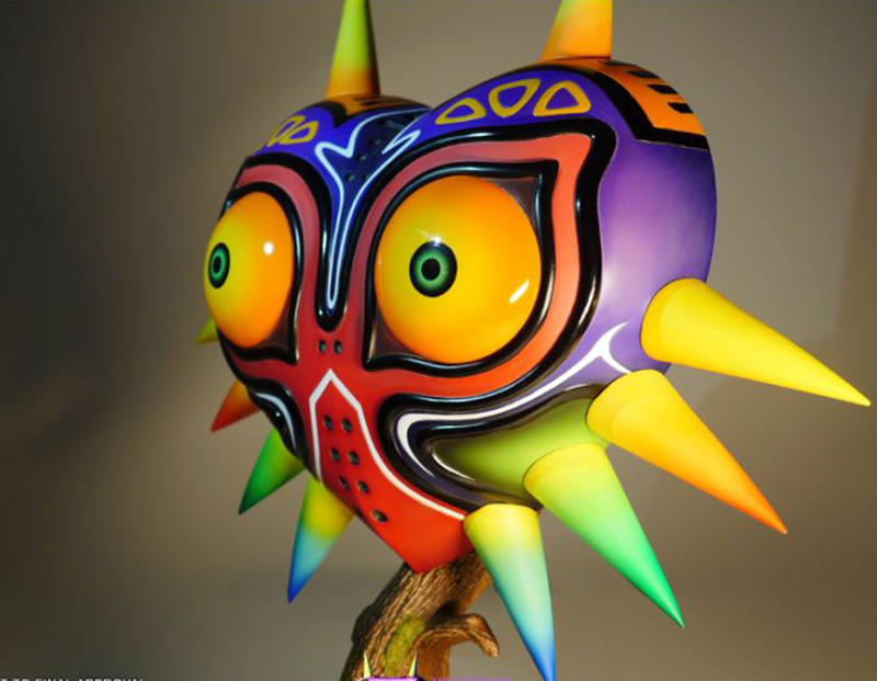 Legend of Zelda Majoras Mask Life Sized Majoras Mask Statue