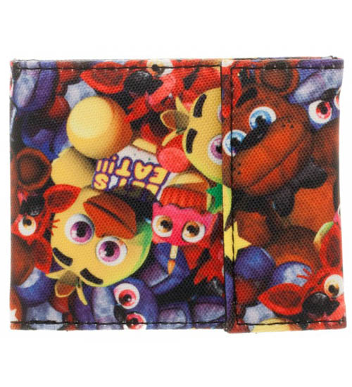 Five Nights At Freddy's Bi-Fold Wallet