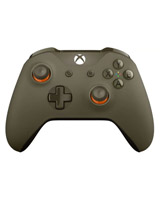 Xbox One Wireless S Green and Orange Controller