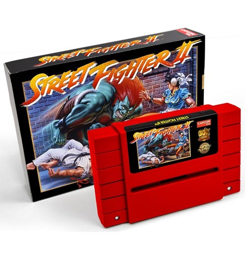 Buy Super Nintendo Street Fighter Ii Legacy Cartridge Collection