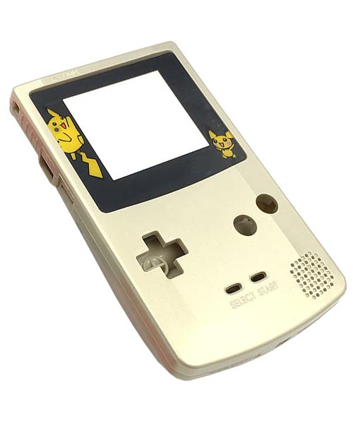 Game Boy Color Housing Shell Replacement Service Pokemon Gold