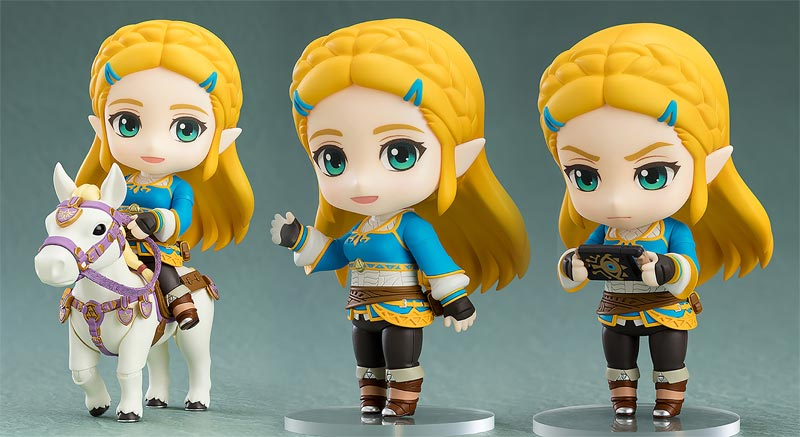 Zelda BOTW Princess Zelda Nendoroid additional poses