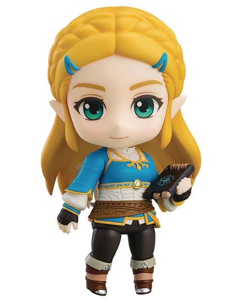 Legend of Zelda Breath of the Wild Princess Zelda Nendoroid