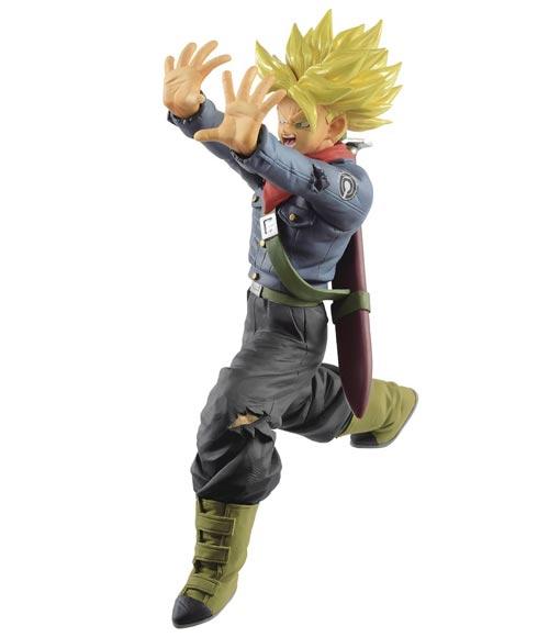 Dragon Ball Super SSJ Future Trunks Galick Gun Figure