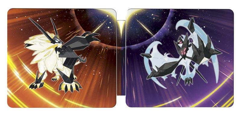 Pokemon Ultra Sun and Moon Steelbook Dual Pack exterior