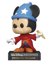 Pop Disney Archives Sorcerer Mickey Mouse Vinyl Figure