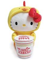 Hello Kitty x Nissin Cup Noodle Chicken Ramen 16 Inch Plush
