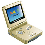 Nintendo Game Boy Advance SP Gold