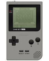 Nintendo Game Boy Pocket System Silver