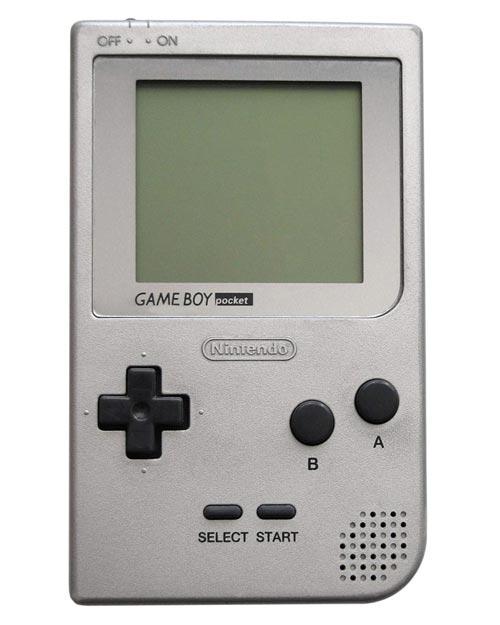 Nintendo Game Boy Pocket System Silver