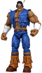 Street Fighter 15th Anniversary Series 2 T. Hawk Action Figure