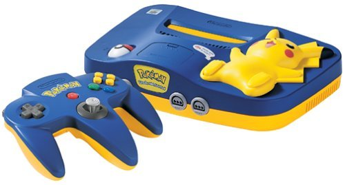 N64 Pikachu Special Edition System
