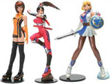 Namco Girls Series 1 (3) Mini Figure Set