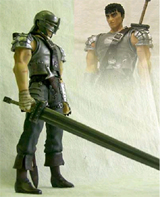 Berserk Guts Hawk Soldier (TV Version) Action Figure